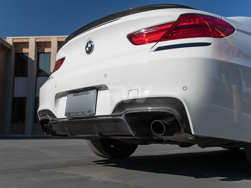 BMW F06 F12 F13 Carbon fiber 3D style diffuser