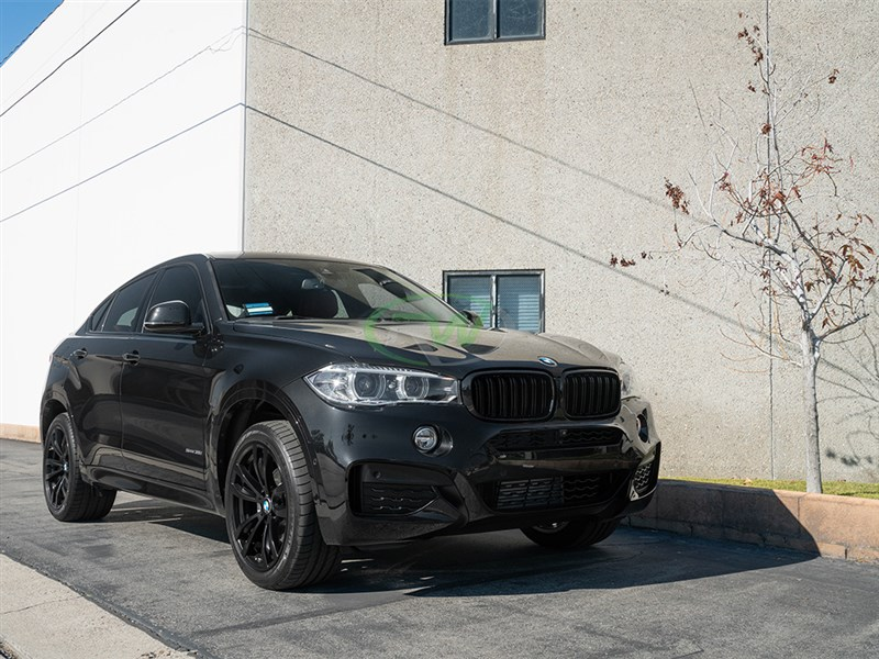 Bmw F15 X5 F16 X6 Gloss Black Kidney Grilles