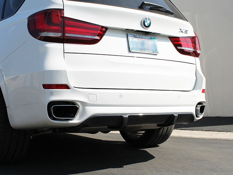 Click to view the carbon fiber rear diffuser for the BMW F15 X5