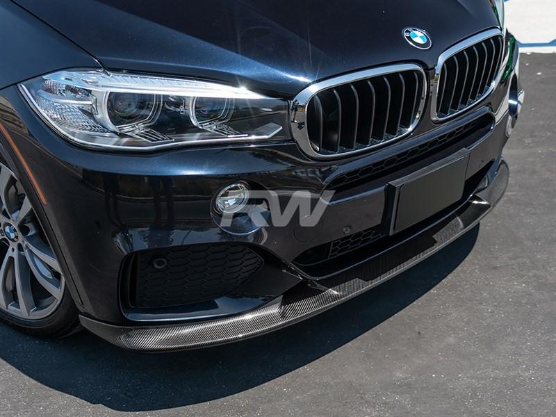 BMW F15 X5 M Sport 3D Style CF Front Lip