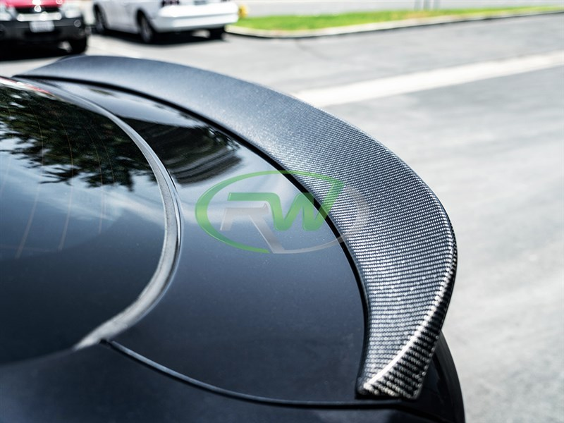 Check out RW Carbon's new carbon fiber trunk spoiler for the BMW F16 X6 and F86 X6M