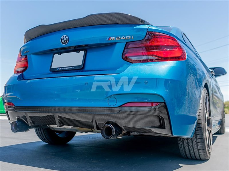 RW Carbon is now offering the Exotics Tuning Style Carbon Fiber diffuser for F22 models