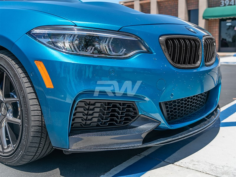 BMW F22 Carbon Fiber M Performance Style Front Lip