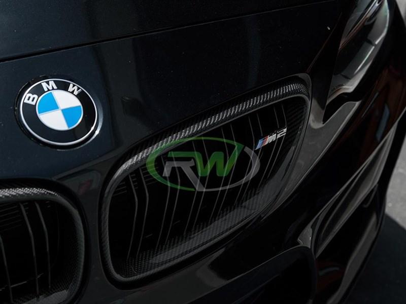 BMW F22 F23 F87 Carbon Fiber Grilles