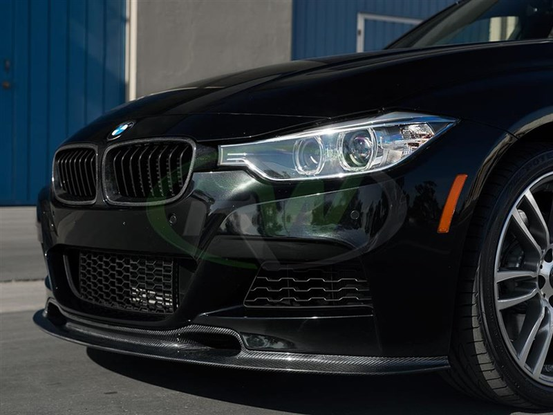 The RW Carbon Varis Style Carbon Fiber F30 fits 328i 328d and 335i.