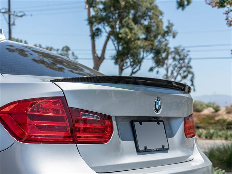 RW Carbon has the BMW Performance Style Trunk Spoiler for F80 M3.