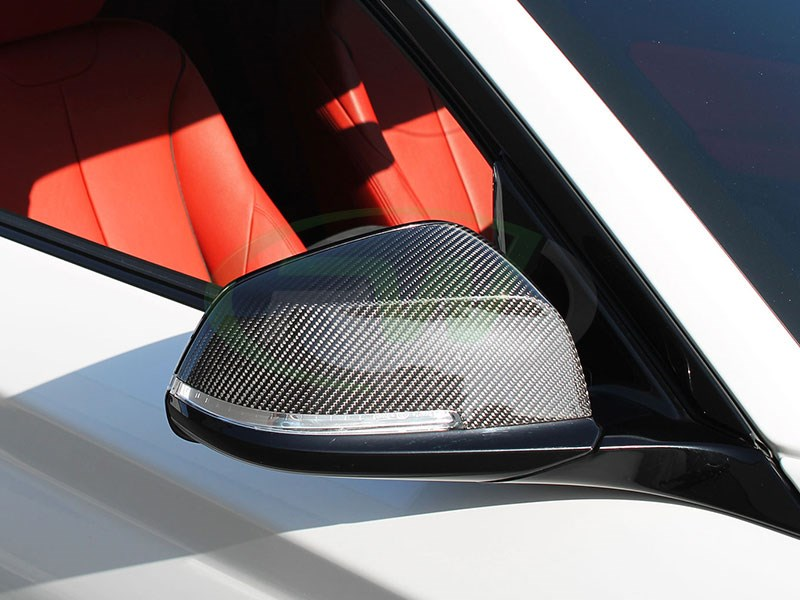 Click here to view carbon fiber mirror cover replacements for BMW F30 328i 328d or 335i