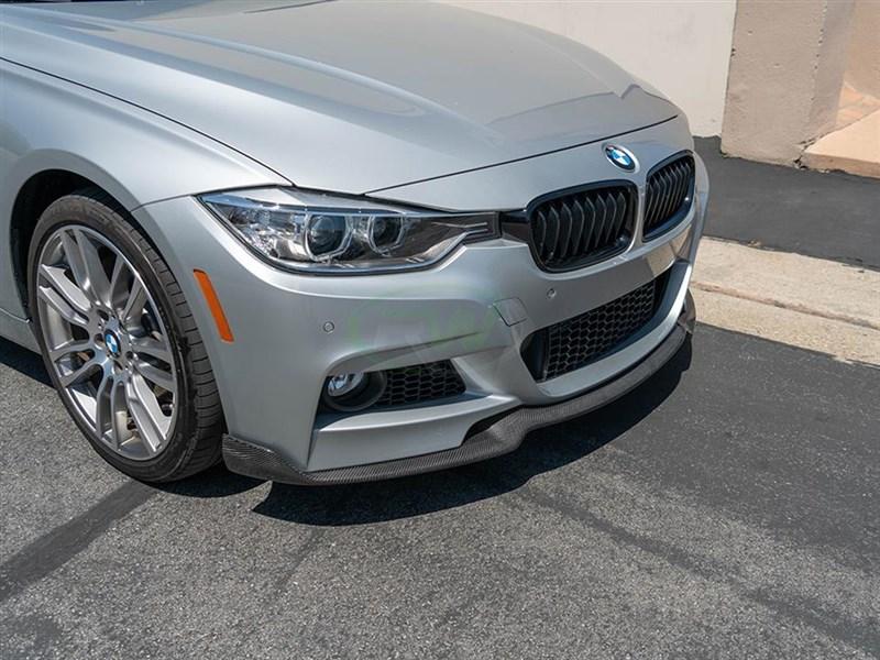 BMW F30/F31 K Style Carbon Fiber Front Lip