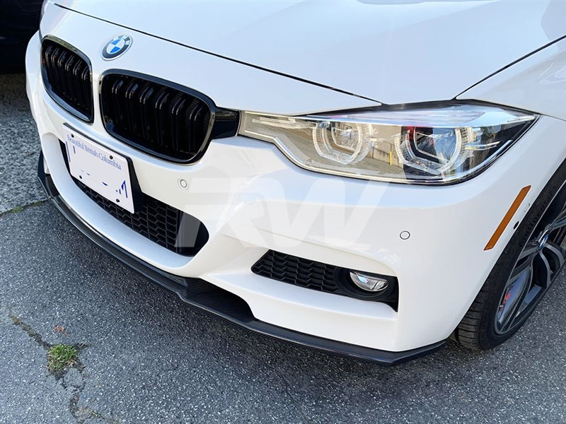 BMW F30 R Style Front Lip