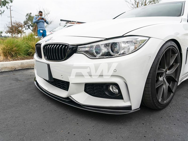 RW Carbon now carries the 3D style CF Front Lip for 4 series