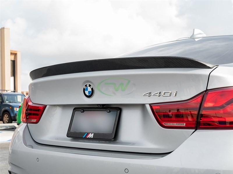 Bmw 428i Price >> BMW F36 3D Style Carbon Fiber Trunk Spoiler 428i, 430i, 435i, 440i