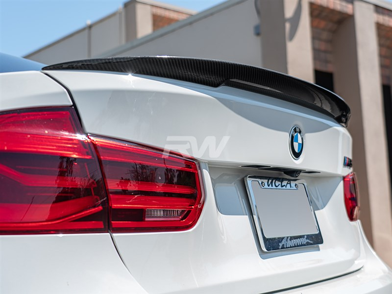 RW Carbon presents our BMW F80 M3 Performance Style CF Trunk Spoiler