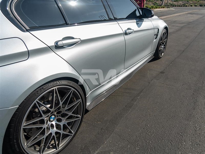 Get your set of BMW F80 M3 GTX Side Skirt Extensions today