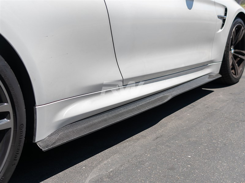 Click to view more info on these new GTX side skirt extensions for the F82 and F83 M4
