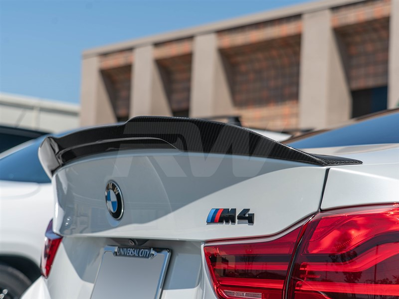 Click to view the all new GTX carbon fiber trunk spoiler for the BMW F82 M4