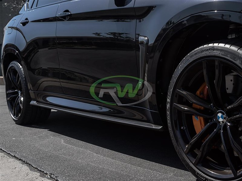 Pick up a set of carbon fiber side skirt extensions for your BMW F85 X5M today