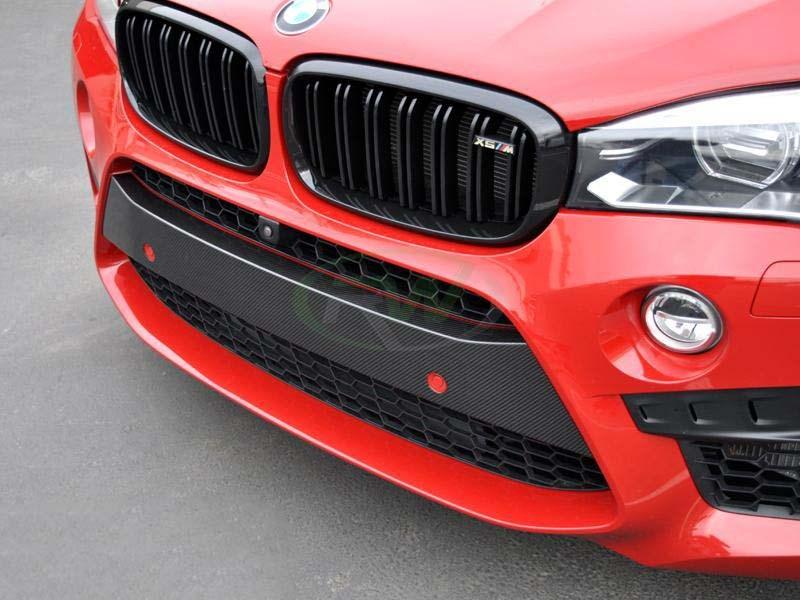 BMW F85 X5M F86 X6M Carbon Fiber Front Bumper Trim