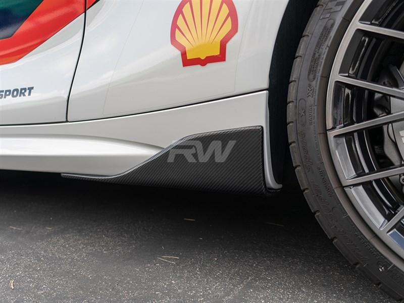 Bmw F87 M2 Carbon Fiber Side Skirt Winglets