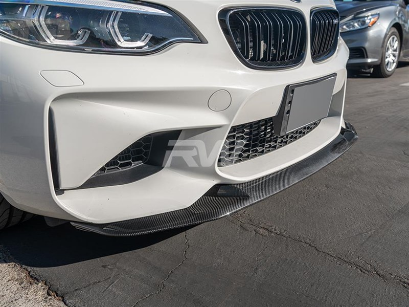 Choose a GTS Style carbon fiber front lip for your BMW F87 M2