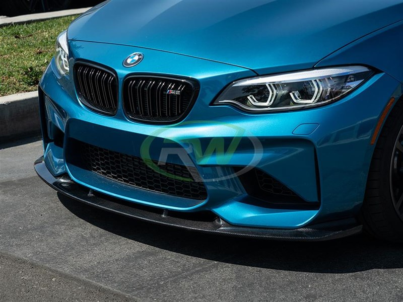 Pick up a new BMW F87 M2 3D Style front lip spoiler today