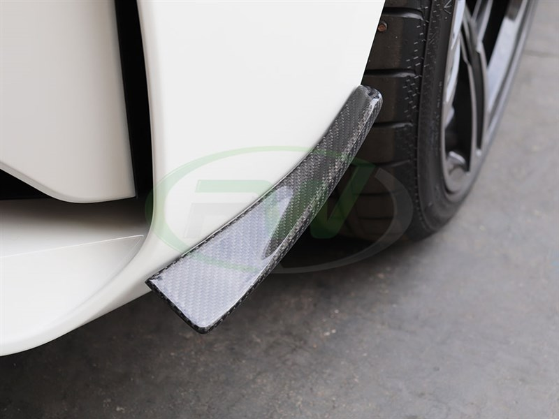 Finish off your F87 M2 with a set of Carbon Fiber Canards