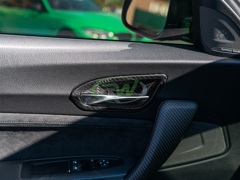 BMW F87 M2 Carbon Fiber Door Trims