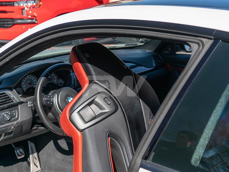 BMW F87 M2 Competition Carbon Fiber Seat Backs
