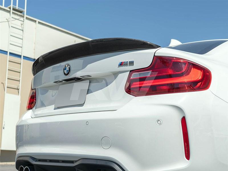 BMW F22/F87 RWS Carbon Fiber Trunk Spoiler