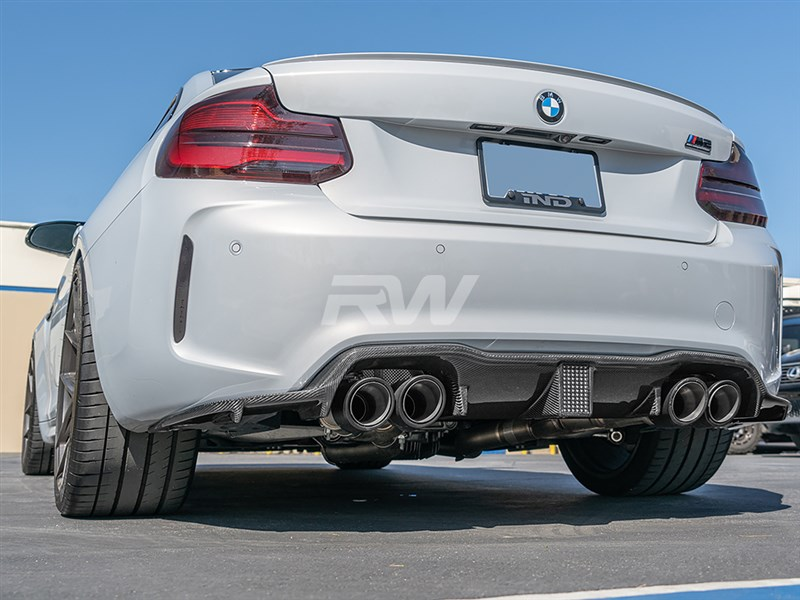 BMW F87 M2 Carbon Fiber Kholen Style Diffuser