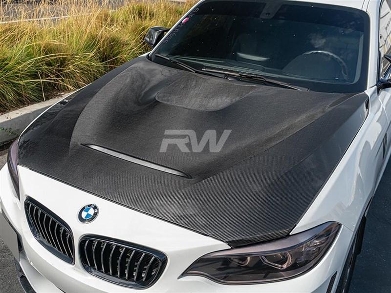 BMW F22 F87 M2 GTS Style Carbon Fiber Hood