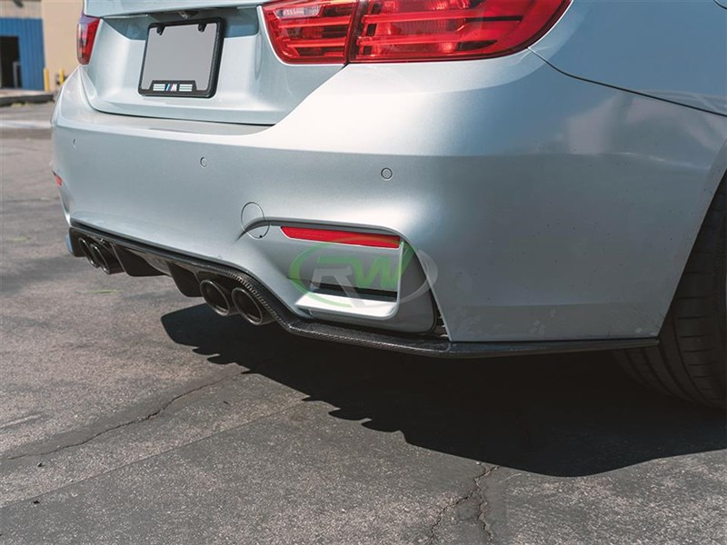 3D Style carbon fiber rear diffuser is now available at RW Carbon