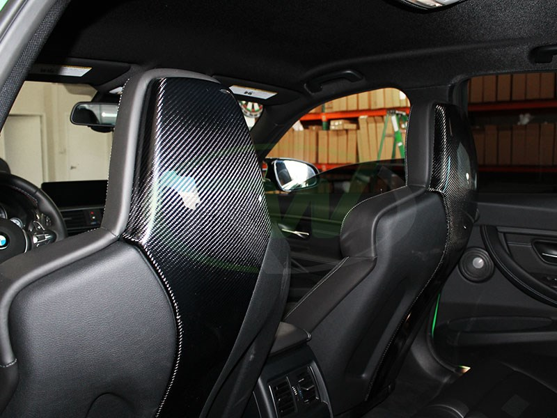 Check out RW Carbon's new CF Seat Backs for the F80 M3 and F82 M4