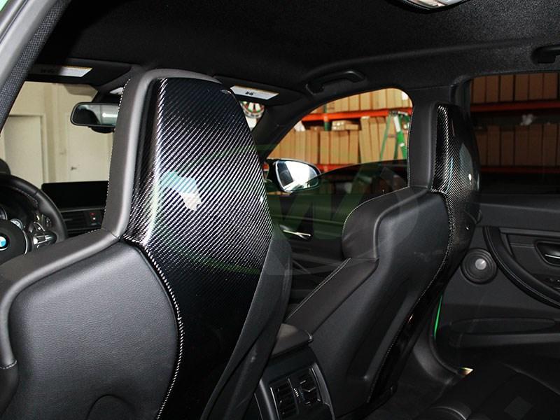 Bmw F80 M3 F82 M4 Carbon Fiber Seat Backs