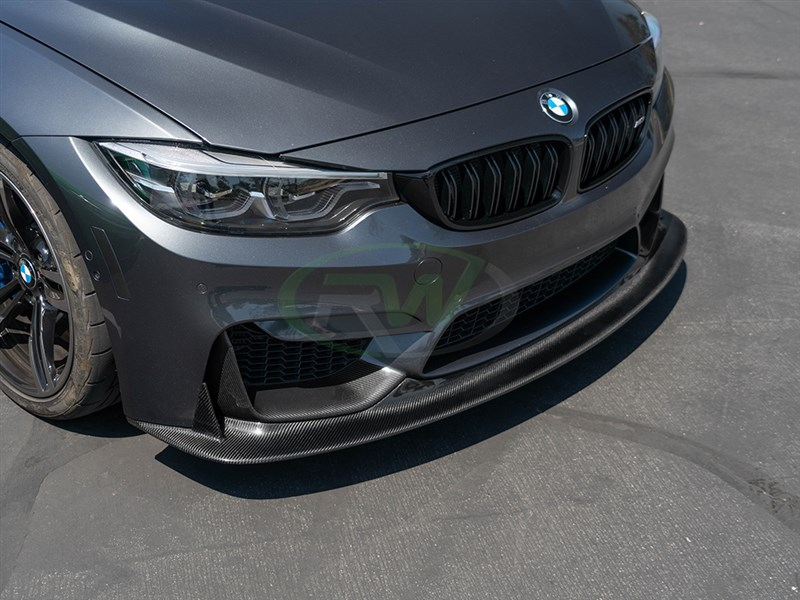 Click to view our new carbon fiber F8x M3 and M4 ENS Style Front Lip Spoiler