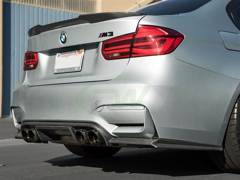 View the all new Exotics Style diffuser for the BMW F80 F82 an F83 M3 and M4 models
