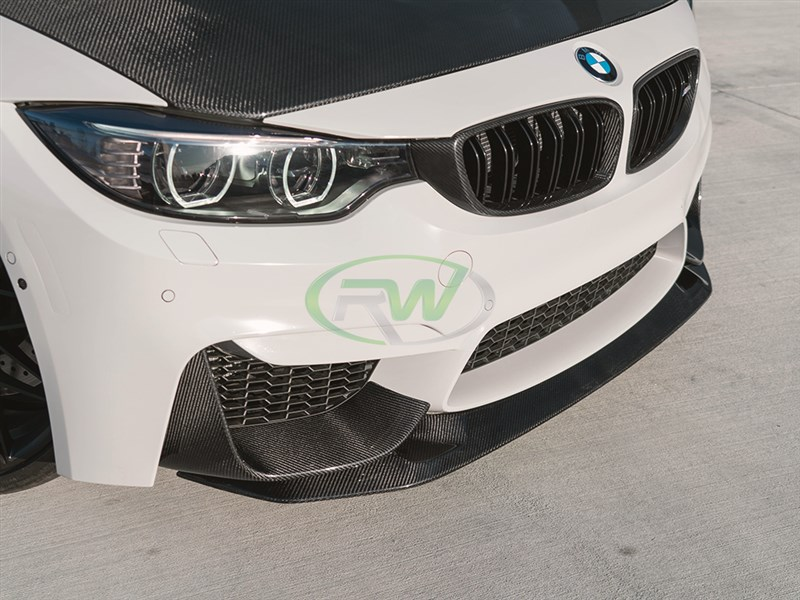 Get your hands on one of the first GTS Style CF Front Lips for your F8x M3 or M4