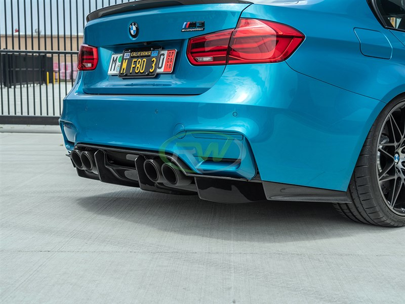 Check out the newest F8x diffuser from RW Carbon, the GTX
