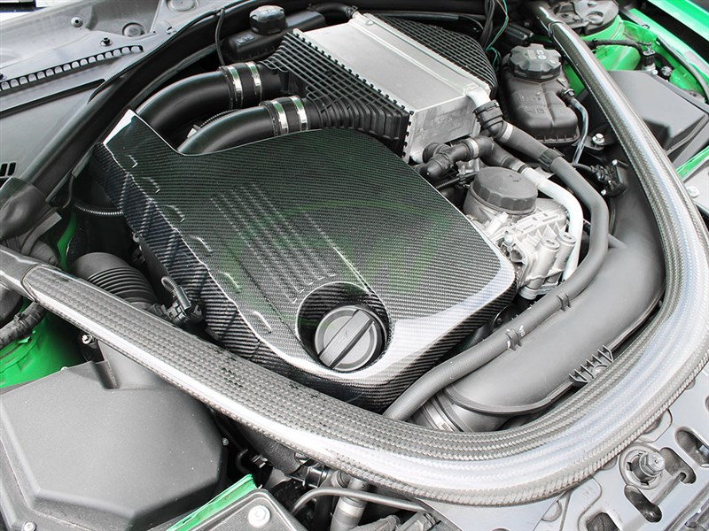 Pick up a Carbon fiber engine cover for your BMW F8x M4 M3