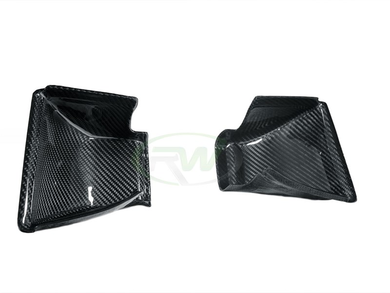 Pick up a set of Carbon fiber intake scoops for your BMW F8x M4 M3