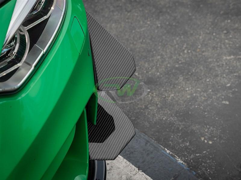 carbon fiber rear bumper splitters for BMW F80 M3 F82 F83 M4
