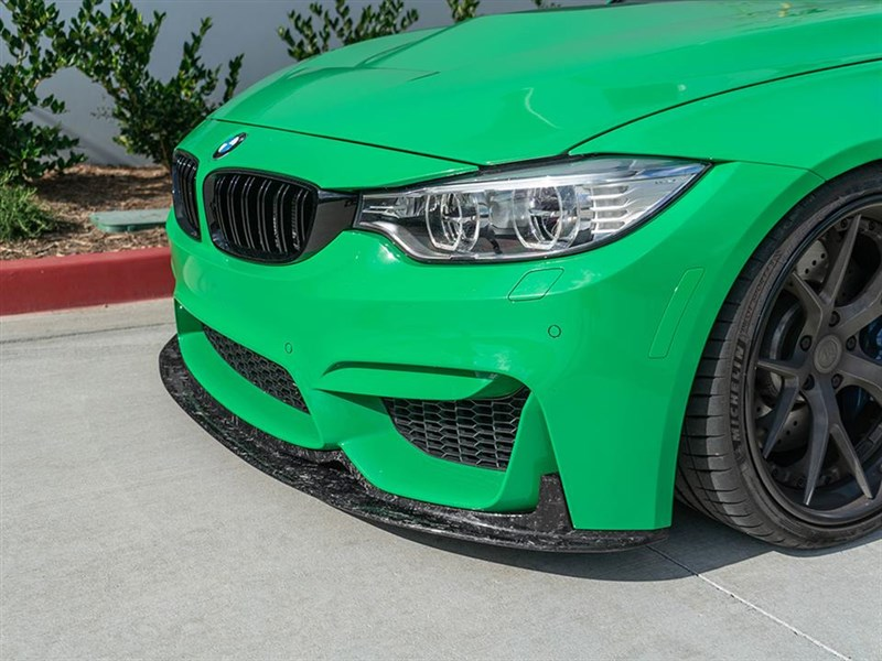 Forged Carbon RWS Carbon fiber front lip