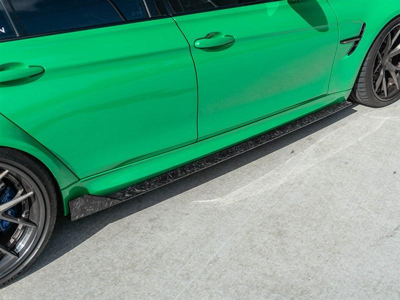 RW Carbon fiber bmw f80 m3 rws carbon fiber side skirts