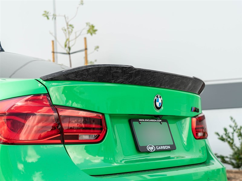 BMW F80 Forged RWS Trunk Spoiler