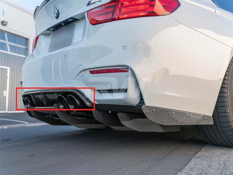 BMW F8x M3 M4 Varis Style CF Rear Diffuser