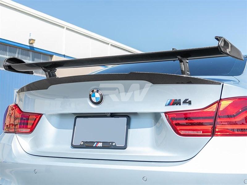 BMW F80 F82 F83 M3 M4 DTM Style Carbon Fiber Rear Wing