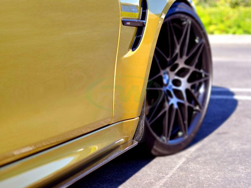 BMW F8x Carbon Fiber Splash Guards