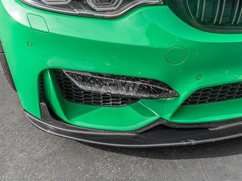 BMW F8X M3/M4 Upper Forged Carbon Fiber Splitters