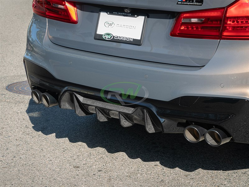 Check out this bmw f90 m5 performance style carbon fiber diffuser