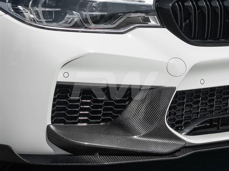 BMW F90 M5 Perf Style Carbon Fiber Splitters