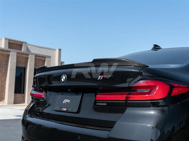 BMW G30/F90 CS Style Carbon Fiber Trunk Spoiler